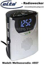 Elta 4557 Wellness Uhreinradio Radiowecker LED UHR LCD UKW Snooze Sleep L2