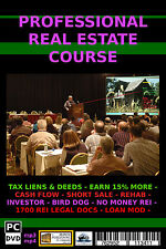 THE ULTIMATE IN REAL ESTATE TRAINING - PRO REAL ESTATE COURSE TRAINING IN REI