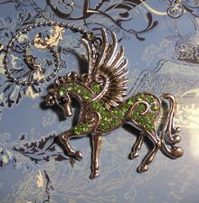 XLarge Fairy Horse Rhinestone Ceiling Fan Pull~Hook on Chain/Lamp/Auto/Wall