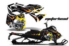 AMR Racing Sled Wrap Ski Doo Rev XM Snowmobile Graphics Kit 2013-2014 MOTORHEAD