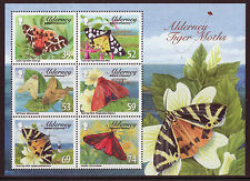 ALDERNEY 2012 TIGER MOTHS MINIATURE SHEET UNMOUNTED MINT