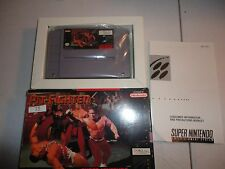 Pit-Fighter (Super Nintendo Entertainment System, 1992) with Box and Manual