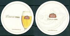 STELLA ARTOIS BELGIAN BEER, BEERMAT/COASTER NEW-UNUSED -GV 110613