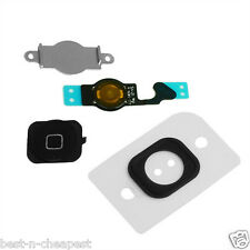 Per iPhone 5 Pulsante Home & Flex cable Set Completo,Ricambio Menu Tasti 5G NERA
