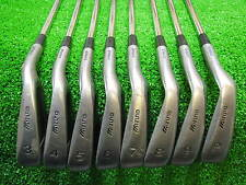 Mens RH Mizuno Cimarron O.S. Gradual Flow Weighting Iron Set 3-PW Steel Shaft