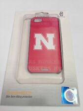Coveroo Nebraska Cornhuskers Red NCAA Case Cover & LCD Protector For iPhone 5 5S