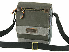 Troop London Flap Over Design Small Cross Body Shoulder Messenger Bag - TRP0388