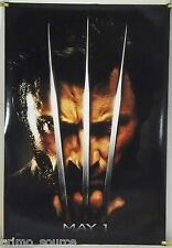 X-MEN ORIGINS:  WOLVERINE DS ROLLED TSR ORIG 1SH MOVIE POSTER HUGH JACKMAN(2009)