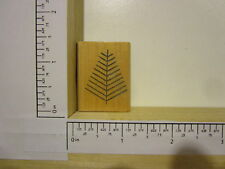 Rubber Stamp by RUBBER HEADS Stick Christmas Tree M