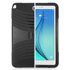 Black for Samsung Galaxy Tab A 9.7-inch Defender Box Hybird Case Stand +Stylus