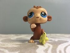 LITTLEST PET SHOP #86 MAGIC MOTION MONKEY WITH BANANA