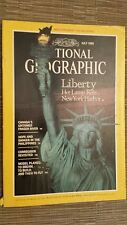 National Geographic- LIBERTY HER LAMP RELIT - July 1986
