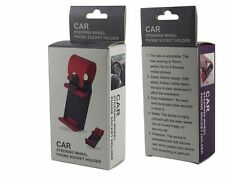 Universal Car/Bike Steering Wheel Phone Scoket Holder - Brand New