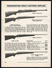 1998 REMINGTON 700 BDL DM, BGL SS DM, BDL SS, BDL SS DM-B Bolt Action Rifle AD