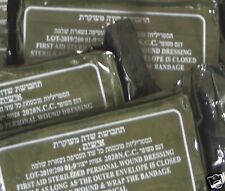 10 Israeli Trauma Bandages dressing buy 2 get 25 Field Emergency IFAK IDF sealed