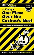 CliffsNotes on Kesey's One Flew Over the Cuckoo's Nest Cliffsnotes Literature G