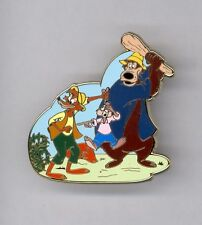 UK Disney Store Song of the South Brer Bear Rabbit & Fox Surprise LE 150 Pin