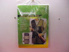 Remington Deluxe Shooting Vest- Skeet/Trap/Sporting - Size XXL - Black - New !!!