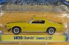 Chevrolet Camaro Z/28 1970 Mostaza Country Roads 11 Greenlight 29780 1:64 Nuevo