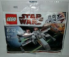 LEGO Star Wars Mini Set 30051 X-WING STARFIGHTER Polybag NEW & Factory Sealed