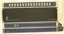 SIGMA ELECTRONICS SS-2100-2 HUB DVS-1616 + SBC-16 + 2100-6 VIDEO SWITCHER PANELS
