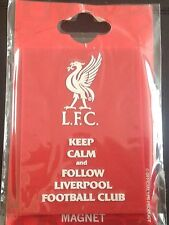 Liverpool Official Fridge Magnet Keep Calm And Follow Liverpool Football Club