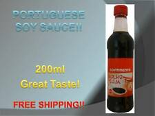 1 BOTTLE SOY SAUCE from PORTUGAL 200 ml!! Great flavour! Free Shipping!