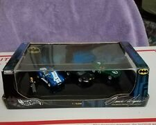 HOT WHEELS BATMAN BRUCE WAYNE 2004 DC WB COLLECTION NEW IN BOX W/ ALFRED FIGURE