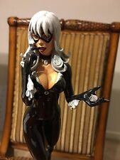 Black Cat Polystone Statue by Bowen Designs RARE GEMS SPIDERMAN