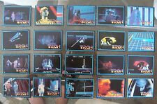 TRON Movie 1982 Donruss Complete 66 Card Set Jeff Bridges TV Movie PACK FRESH