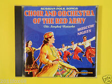 cd choir and orchestra of the red army serghej nazarko russian folk songs moscow