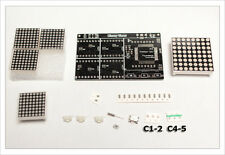 DIY electronic Kit - Juno Matrix Pro 320 LED clock 5ppm 32khz SMD AVR arduino