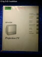 Sony Bedienungsanleitung KP 41S4 Projection TV (#1369)