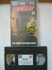 SPEED VHS VIDEO. EAN: 5013738863859. Reeves, Bullock, Hopper. Cert.15.