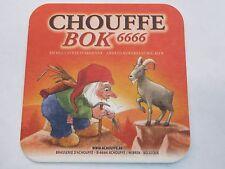 Beer COASTER ~ ACHOUFFE Brasserie D'Achouffe Bok 6666 ~ Cool Gnome & Goat Design