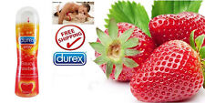 Durex Play Sweet Stawberry Flavored Intimate Lubricant Lube Gel 50ml