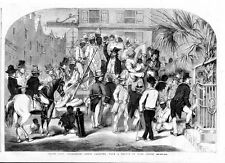 SLAVE AUCTION SALE IN CHARLESTON SOUTH CAROLINA GANG OF NEGROES FOR SALE SLAVERY