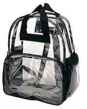Large Clear Backpack 17 Quot Heavy Duty Bag School Office Travel And Security