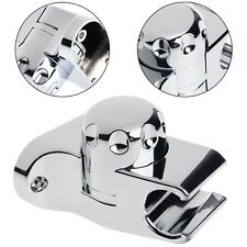 Adjustable Rotating Chrome ABS Shower Head Holder Wall Mounted Bracket Bathroom