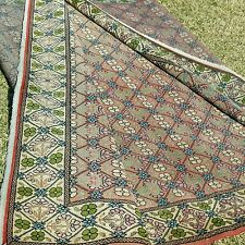 Exclusive Antique Greek Patterned 6'9''x9'5'' Wool Pile Area Rug C1900s Turkey