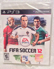 NEW In Sealed Case PS3 FIFA Soccer 12