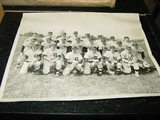 1950s Central Dauphin High School Varsity Baseball Team Photo Harrisburg PA
