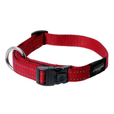 """Rogz Dog Collar Utility Side Release Collar Lumberjack X-Large  Red fit 17""""-29"""""""