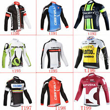new Thermal Fleece long sleeve Bike Bicycle cycling jersey Outdoor sports wear