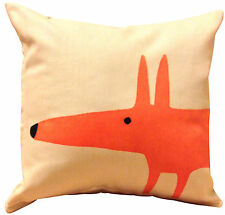 Scion Mr Fox Cream Cushion Cover 12''