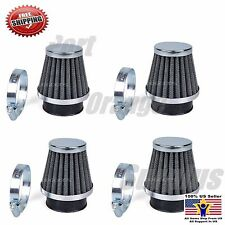 Small  39mm Air Filter Pod Set For Honda CB500 CB750 1969-1978