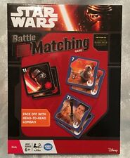 Star Wars Battle Matching Game. Wonder Forge 2015. New