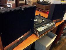 Vintage Portable TOSHIBA Record Player Radio Phonograph