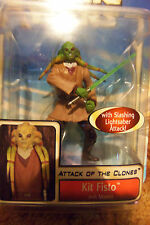 Star Wars AOTC Clones Kit Fisto OOAK Sloppy Painted Sweater Error Variant Figure