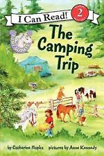 Pony Scouts: The Camping Trip (I Can Read Book 2)-ExLibrary